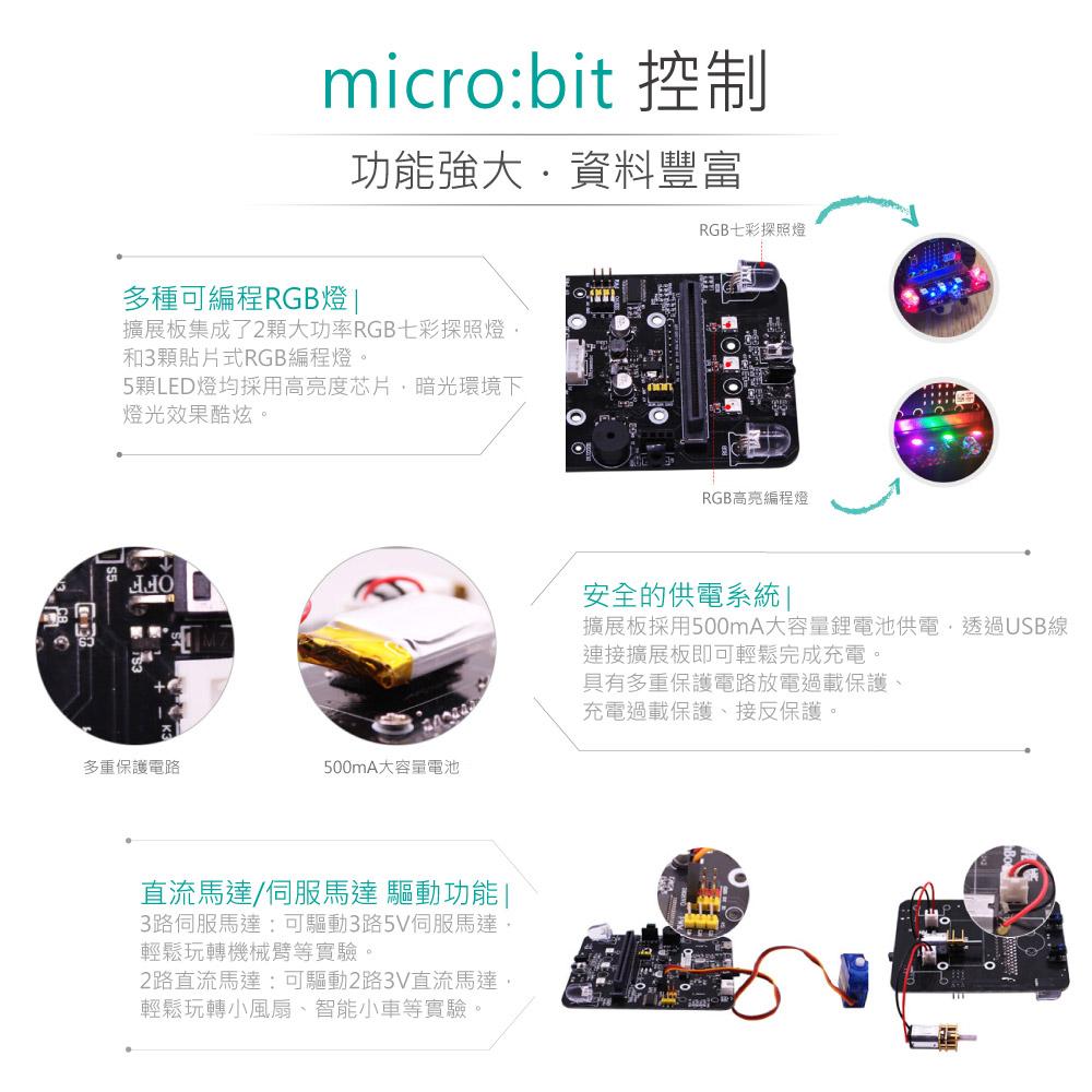堃喬 堃邑 BBC MICROBIT 轉接 微型電腦 開發板 青少年 生活科技 STEM 藍芽 口袋晶片