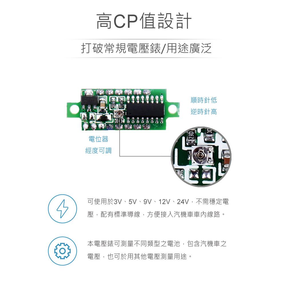 堃喬 堃邑 電錶 錶頭 數位式 二線式  藍反接保護 接反不燒毀 30VDC