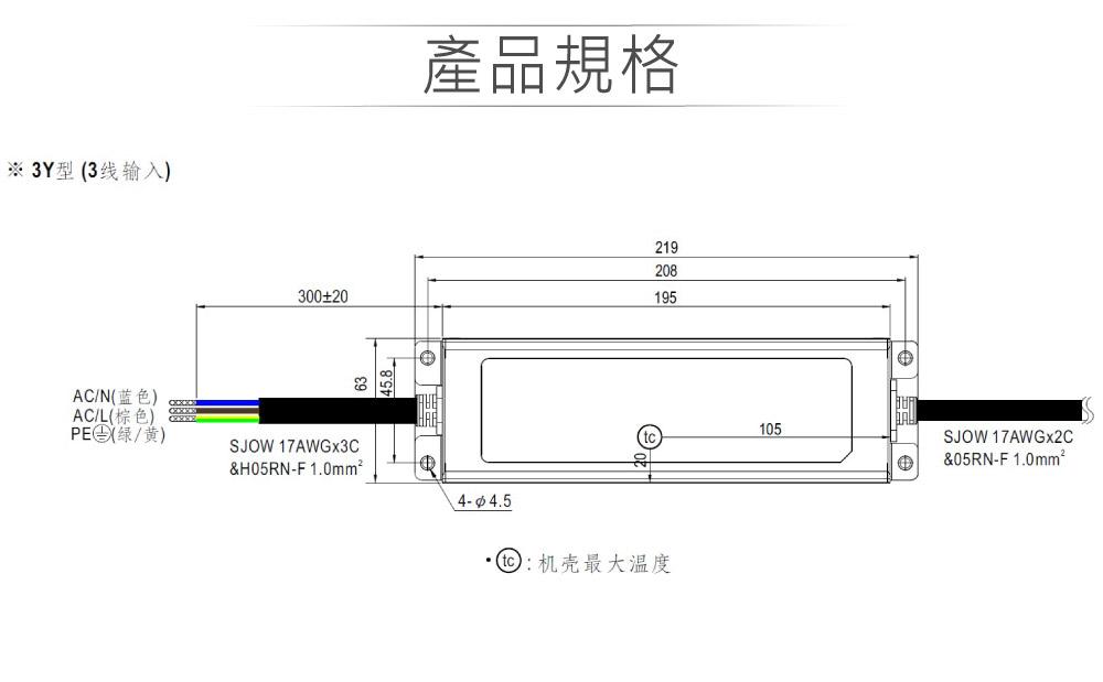 堃喬 堃邑  電源供應 LED 電源供應器  PFC型ELG恆壓恆流 MW明緯 36V/4.17A ELG-150-36B-3Y LED 照明專用 恆流+恆壓型 電源變壓器 IP67