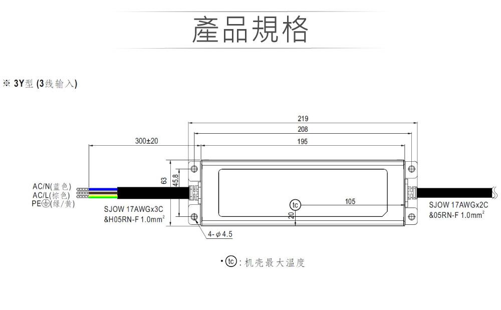 堃喬 堃邑  電源供應 LED 電源供應器  PFC型ELG恆壓恆流 MW明緯 24V/6.3A ELG-150-24-3Y LED 照明專用 恆流+恆壓型 電源變壓器 IP67